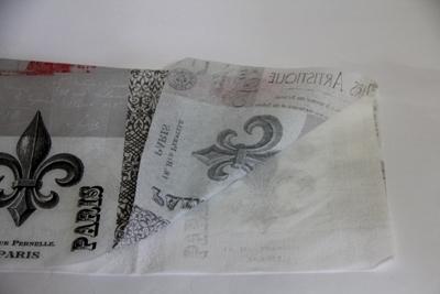 декупаж обложки для паспорта