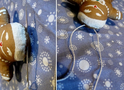Имбирные пряники из ткани