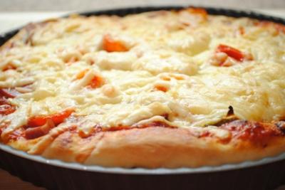 Толстая пицца